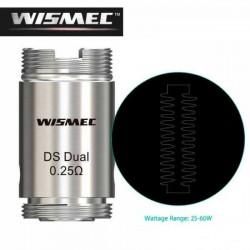 WISMEC DS DUAL 0.25 ohm