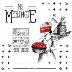 Aroma MISS MERINGUE 50+10 MIX SERIES TPD nic.0mg