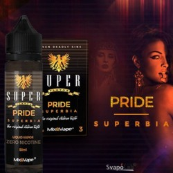 PRIDE 50+10ML nic.18mg MIX SERIES TPD