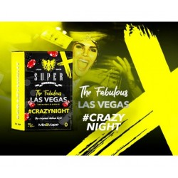 Aroma LAS VEGAS CRAZYNIGHT 50+10 nic.3mg MIX SERIES TPD