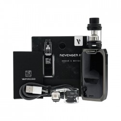 REVENGER KIT con NRG Tank 5ml black