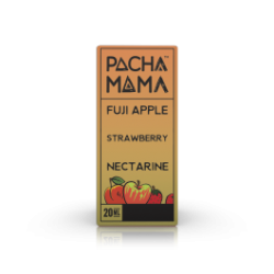 AROMA SHOT SERIES-PACHA MAMA-FUJI APPLE STRAWBERRY NECTARINE-20ml+30ml Full VG+10ml VG o PG