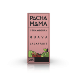 AROMA SHOT SERIES-PACHA MAMA STRAWBERRY GUAVA JACKFRUIT-20ml+30ml Full VG+10ml VG o PG