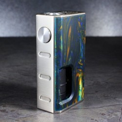 LUXOTIC BOX BF SWIRLED METALLIC RESIN+TOBHINO BF RDA BLACK