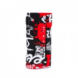 BOX MOD ECO 90W COLOR BLACK/RED