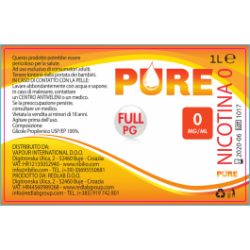 BASE PURE FULL PG 1000ml-NICOTINA 0