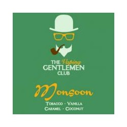AROMA MONSOON-TOBACCO,VANILLA,CARAMEL,COCONUT 11ml THE VAPING GENTLEMAN CLUB