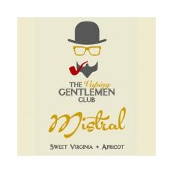 AROMA MISTRAL-SWEET VIRGINIA & APRICOT 11ml THE VAPING GENTLEMAN CLUB