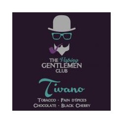 AROMA TIVANO- TOBACCO,PAIN D'EPIECES DARK CHOCOLATE,BLACK CERRY 11ml THE VAPING GENTLEMAN CLUB