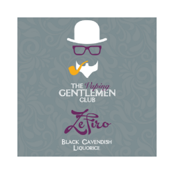 AROMA ZEFIRO - BLACK CAVENDISH AND LIQUORICE 11ml THE VAPING GENTLEMAN CLUB