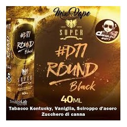 DANIELINO 77 ROUND BLACK