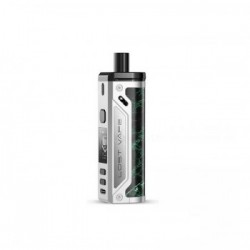 KIT THELEMA POD 80W 4ML LOST VAPE-SILVER GLOSSY LEATHER