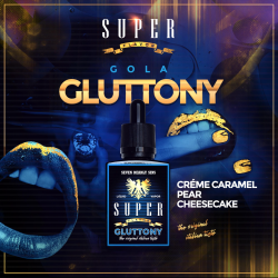 GLUTTONY 50+10ML nic.18mg MIX SERIES